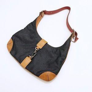 Coach Mini Denim Shoulder Bag
